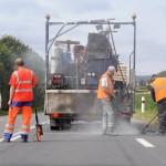 Pontage de fissures - Jort (Calvados) - Juillet 2012
